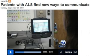 Patients with ALS find New Ways To Communicate
